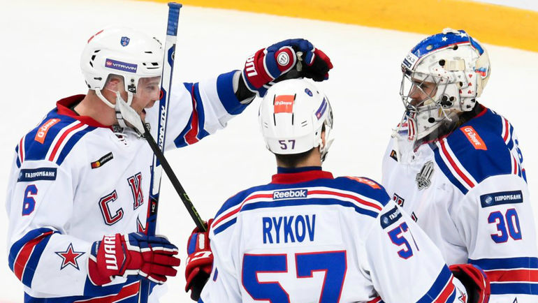 "СКА повторил рекорд ""Авангарда"" по количеству побед подряд. Фото ХК СКА."
