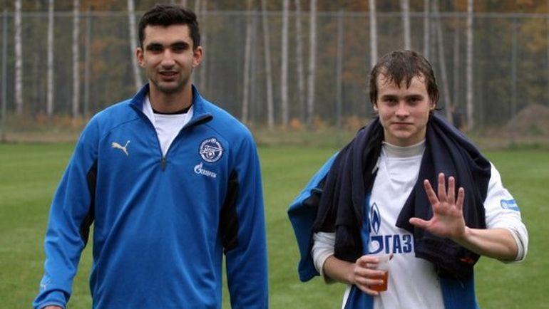 Басель АБДУЛФАТТАХ (слева). Фото fc-zenit.ru