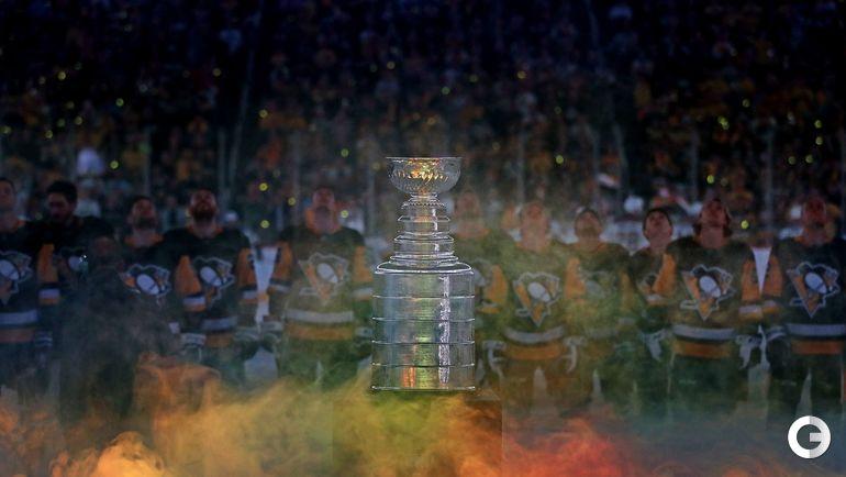 """Сегодня. НХЛ. """"Питтсбург"""" - """"Сент-Луис"""" - 4:5. Награждение победителей Кубка Стэнли."""