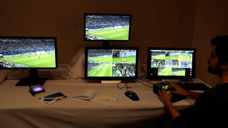 Система ВАР использовалась в том числе и во время матчей Кубка Либертадорес. Фото REUTERS