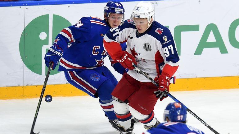 Александр БАРАБАНОВ (слева) и Кирилл КАПРИЗОВ. Фото photo.khl.ru