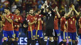 Сегодня. Аликанте. Испания - Албания - 3:0. Команда Хулена Лопетеги пробилась в финальную часть чемпионата мира.