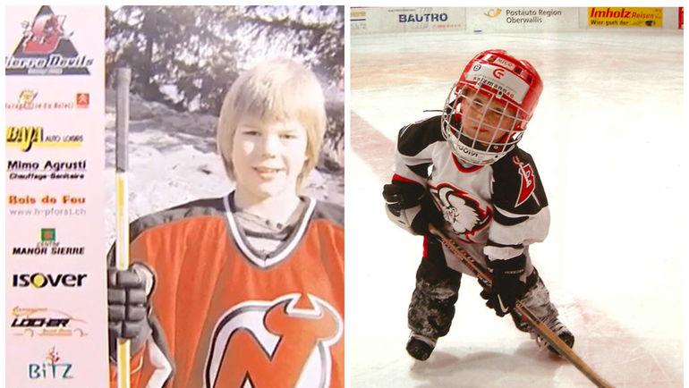 Нико ХИШИР в детстве. Фото Нико ХИШИР/The Players Tribune