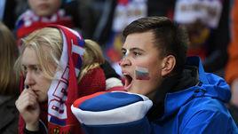 Сегодня. Москва. Россия - Корея - 4:2. Болельщики сборной России.
