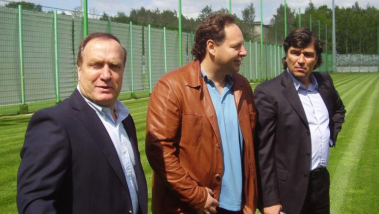 Дик АДВОКАТ, Константин САРСАНИЯ и Николай ПИСАРЕВ. Фото Сергей КУЗОВЕНКО