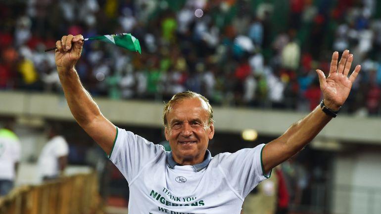 Гернт РОР - тренер, который вывел нигерийцев на ЧМ-2018. Фото AFP