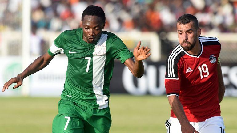 """Ахмед МУСА (слева) лишился игровой практики не только в """"Лестере"""", но и сборной. Фото AFP"""