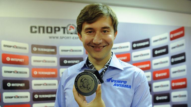 Сергей КАРЯКИН. Фото Алексей ИВАНОВ