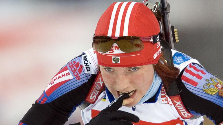 2008 год. Светлана СЛЕПЦОВА. Фото AFP