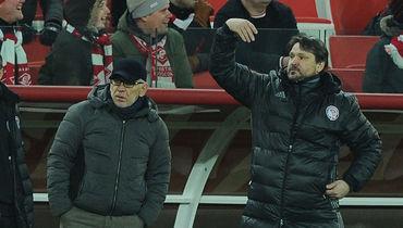 Гаджи ГАДЖИЕВ и Вадим ЕВСЕЕВ. Фото Александр ФЕДОРОВ, «СЭ»