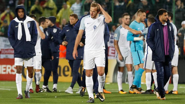 Английская сборная неожиданно вспомнила о российских шпионах. Фото REUTERS