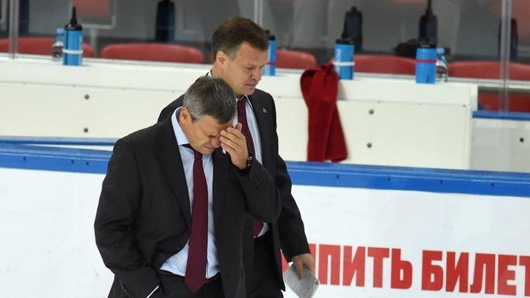 Дмитрий КВАРТАЛЬНОВ и Игорь ГОРБЕНКО. Фото photo.khl.ru