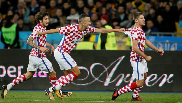 Сборная Хорватии не пустила Украину на чемпионат мира. Фото REUTERS