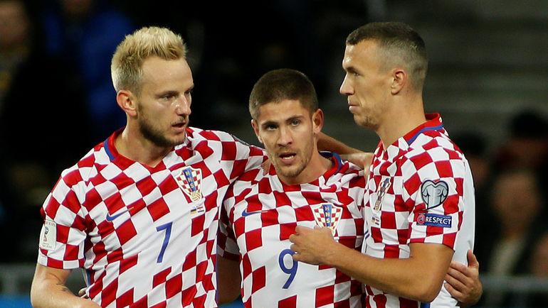 Андрей КРАМАРИЧ (в центре) забил два гола. Фото REUTERS