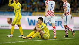 Понедельник. Киев. Украина - Хорватия - 0:2. Евгений КОНОПЛЯНКА.