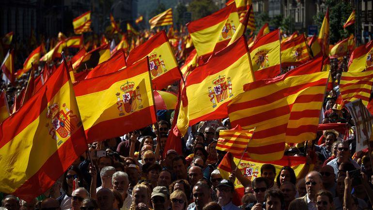 Сегодня правительство Каталонии может объявить о независимости края. Фото AFP