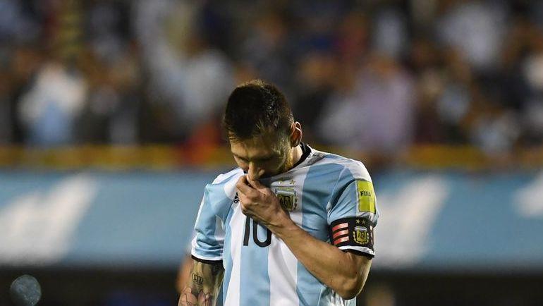Сумеет ли сборная Аргентины во главе с Лионелем Месси отобраться на чемпионат мира в Россию? Фото AFP