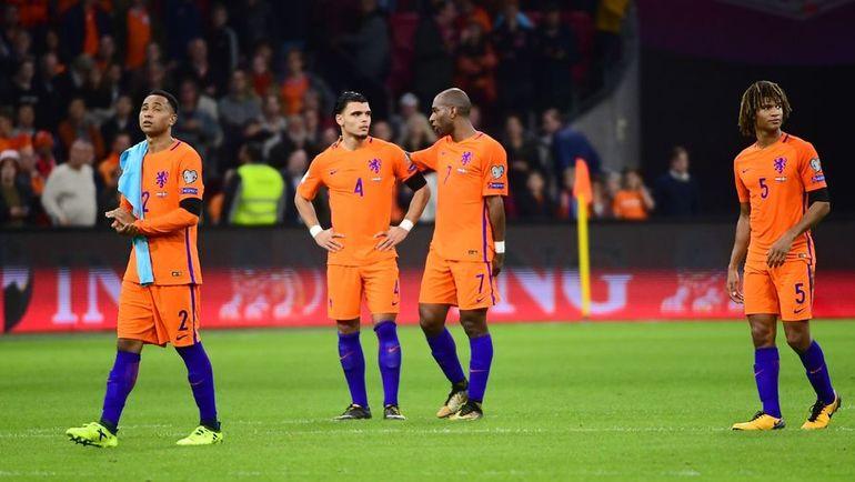 Вторник. Амстердам. Голландия - Швеция - 2:0. Голландцы остались без путевки на ЧМ-2018. Фото AFP