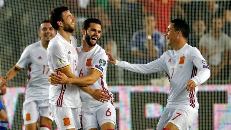 Испанцы вышли на ЧМ-2018 с первого места в группе с Италии, но в итоге окажутся во второй корзине. Фото AFP