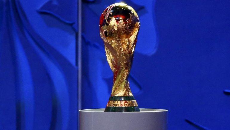 Главный трофей чемпионата мира. Фото REUTERS