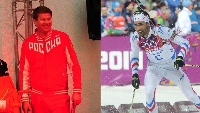 Дмитрий ГУБЕРНИЕВ и Мартен ФУРКАД.