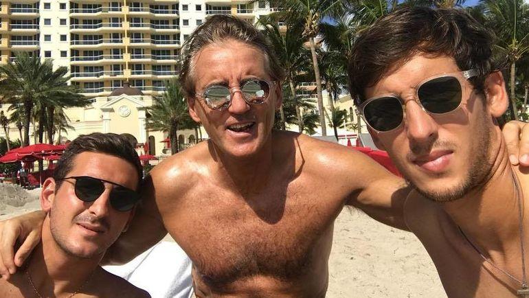 Роберто МАНЧИНИ в Майами. Фото instagram.com/mrmancini10