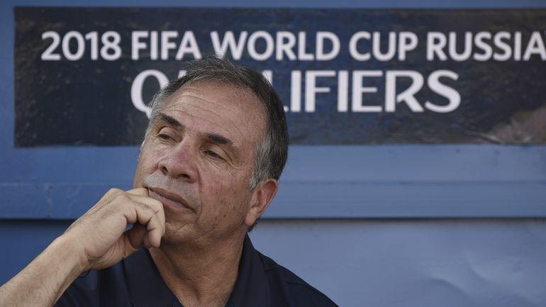 Главный тренер сборной США Брюс АРЕНА. Фото AFP