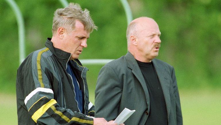 Владимир АЛЕШИН (справа) и Виталий ШЕВЧЕНКО. Фото Алексей ИВАНОВ
