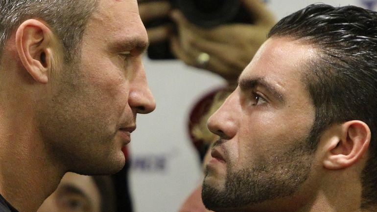 Мануэль ЧАРР (справа) и Виталий КЛИЧКО. Фото AFP