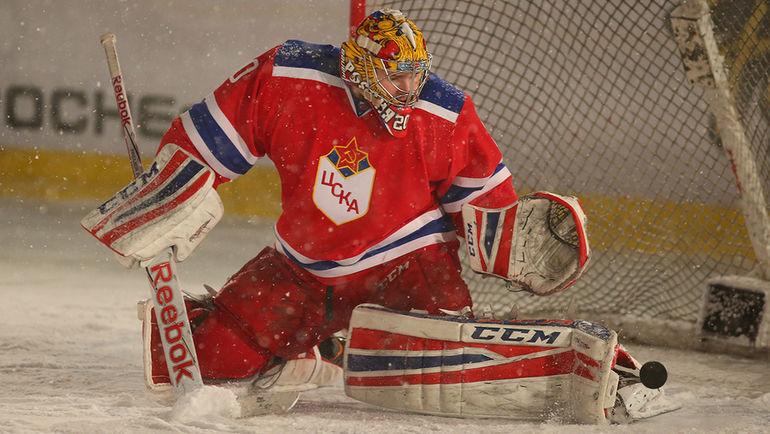 Максим ТРЕТЬЯК. Фото cska-hockey.ru