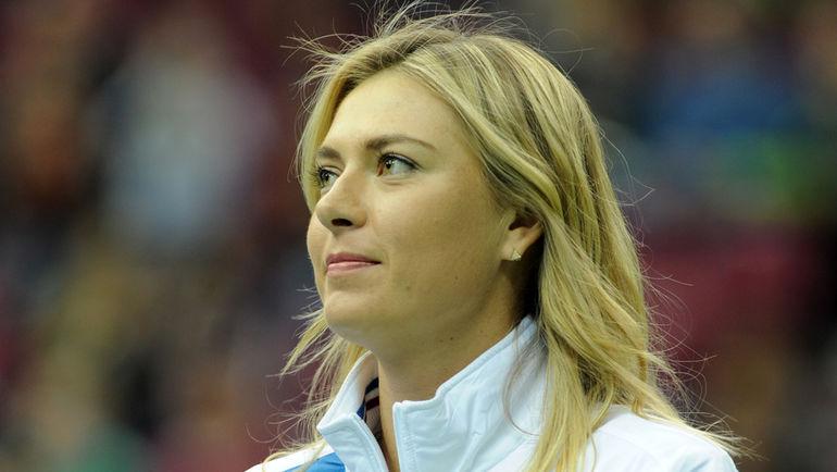 В последний раз Мария ШАРАПОВА играла в Москве в 2012 году. Фото Никита УСПЕНСКИЙ