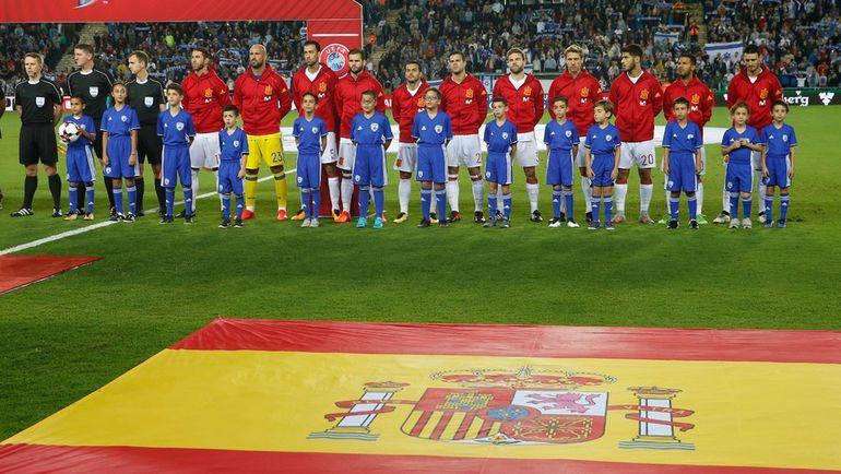 Сборная Испании - соперник россиян в ноябрьском контрольном матче. Фото AFP
