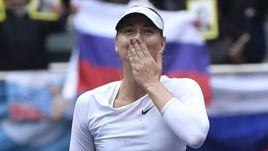 Сегодня. Тяньцзинь. Мария ШАРАПОВА одолела Арину Соболенко и выиграла первый турнир после дисквалификации.