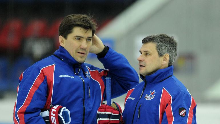 2015 год. Игорь НИКИТИН (слева) и Дмитрий КВАРТАЛЬНОВ. Фото Алексей ИВАНОВ