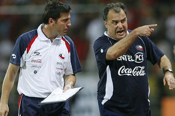 Эдуардо БЕРИССО (слева) и Марсело БЬЕЛСА. Фото Apuntes de Rabona