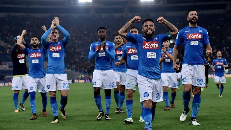 """""""Наполи"""" - одна из команд, наиболее сильно начавших сезон. Фото AFP"""