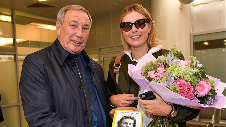 "Мария ШАРАПОВА и Шамиль ТАРПИЩЕВ. Фото ""СЭ"""