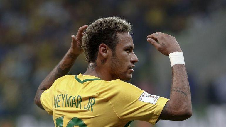 НЕЙМАР - главная звезда сборной Бразилии. Фото REUTERS