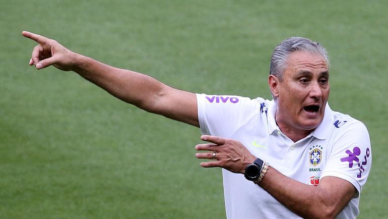Главный тренер сборной Бразилии ТИТЕ. Фото REUTERS