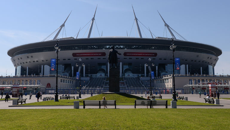 "Стадион ""Санкт-Петербург"". Фото Дарья ИСАЕВА, «СЭ»"
