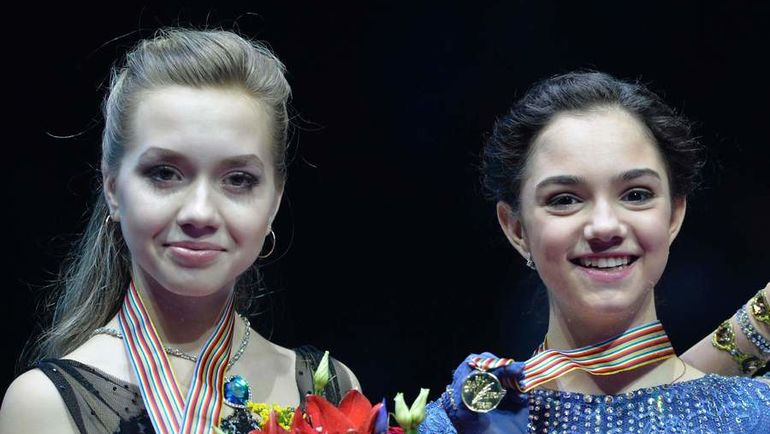 Елена РАДИОНОВА и Евгения МЕДВЕДЕВА. Фото REUTERS