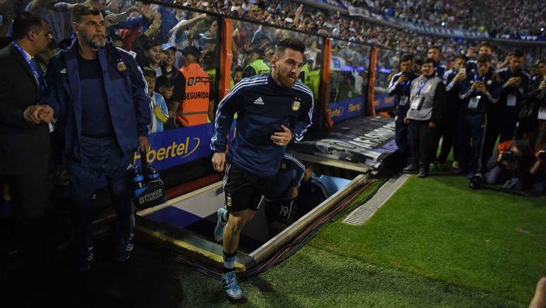 В ноябре один из лучших футболистов мира Лионель МЕССИ сыграет с Россией. Фото AFP