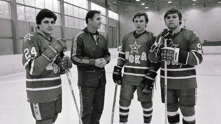 Сергей МАКАРОВ, Виктор ТИХОНОВ, Игорь ЛАРИОНОВ и Владимир КРУТОВ (слева направо). Фото Федор АЛЕКСЕЕВ