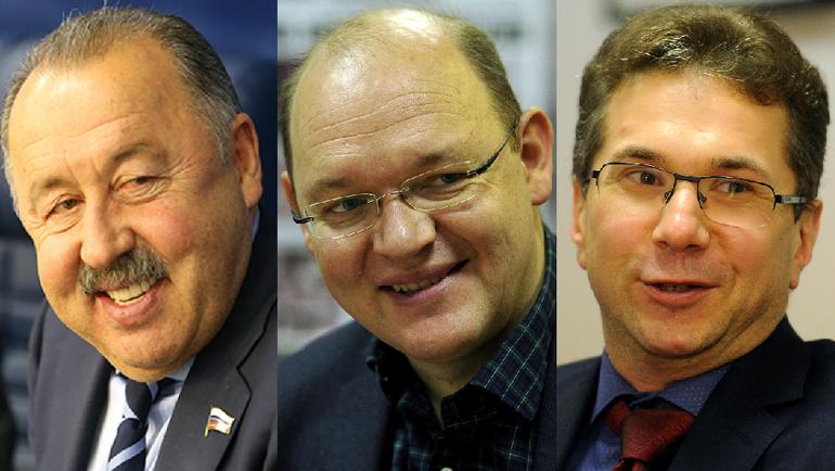 Валерий ГАЗЗАЕВ, Илья ГЕРКУС и Кирилл ЗАНГАЛИС.