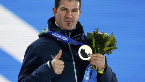 Известный итальянский саночник Армин ЦОГГЕЛЕР. Фото Reuters