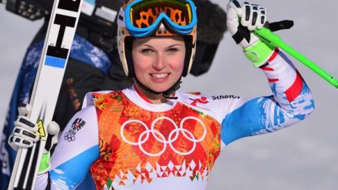Феннингер взяла золото в супергиганте на Олимпиаде в Сочи