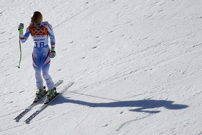Олимпийская чемпионка Сочи в супергиганте Анна ФЕННИНГЕР. Фото AFP
