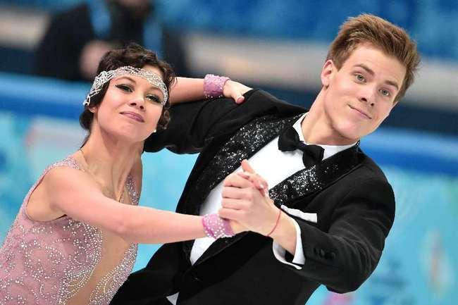 Сегодня. Сочи. Елена ИЛЬИНЫХ и Никита КАЦАЛАПОВ. Фото AFP
