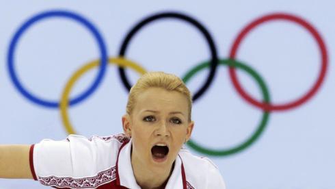 Игрок сборной России Александра САИТОВА. Фото Reuters