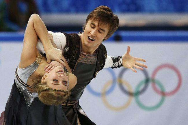 Сегодня. Сочи. Виктория СИНИЦИНА и Руслан ЖИГАНШИН. Фото Reuters